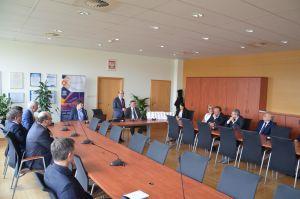 Delegacja Związku Rektorów Uczelni Ukrainy na WNPiD