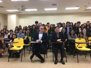 Wizyta prof. Jarosława Jańczaka na Tajwanie