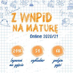 Z WNPiD na maturę Online - podsumowanie
