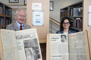 Oryginalne wydania tygodników Polityka oraz Kultura przekazane naszej bibliotece