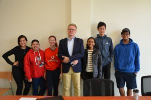 Studenci z North Carolina State University i Iowa State University na WNPiD