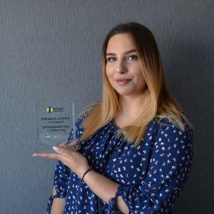 Sandra Wawrzyniak laureatką Studenckiego Nobla 2020