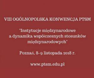 VIII Ogólnopolska Konwencja PTSM
