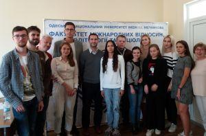 Wizyta naszych wykładowców na I. I. Mechnikov National University w Odessie