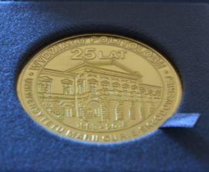 Dziekan WNPiD wyróżniony Medalem 25-lecia Wydziału Politologii UMCS