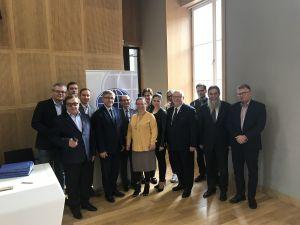 Delegacja WNPiD na Walnym Zjeździe PTNP w Warszawie