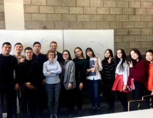 Warsztaty News Literacy na Suleyman Demirel University