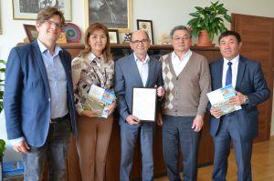 Wizyta gości z Kazachstanu na WNPiD
