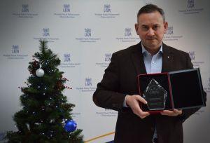 Dr Norbert Gill Najlepszym Dydaktykiem UAM w okresie nauczania zdalnego
