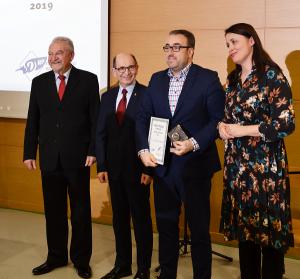 Prof. Szymon Ossowski otrzymał wyróżnienie Mediom Przyjazny 2019!