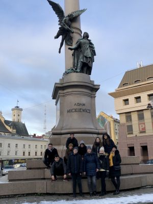 Wizyta we Lwowie naszych studentów z KNHN