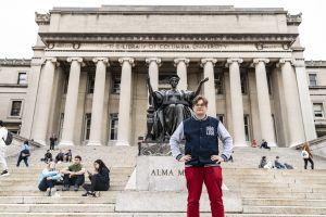 Staż badawczy prof. Fiedlera na Columbia University