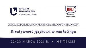 Konferencja: Kreatywność językowa w marketingu