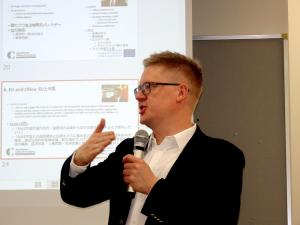 Wizyta naukowa prof. Jańczaka w Tokio